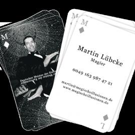 Visitenkarten Martin Lübcke