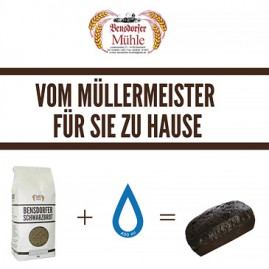 Plakat Bensdorfer Schwarzbrot